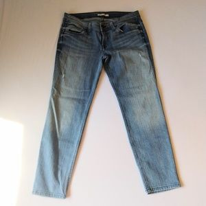 Rich & Skinny Cropped Skinny Distressed Jeans 31